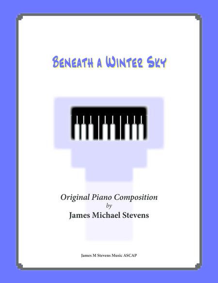 Beneath a Winter Sky (Reflective Solo Piano)