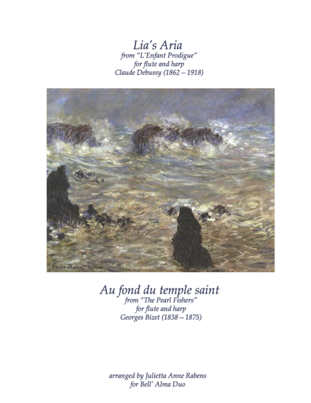 au fond du temple saint sheet music pdf