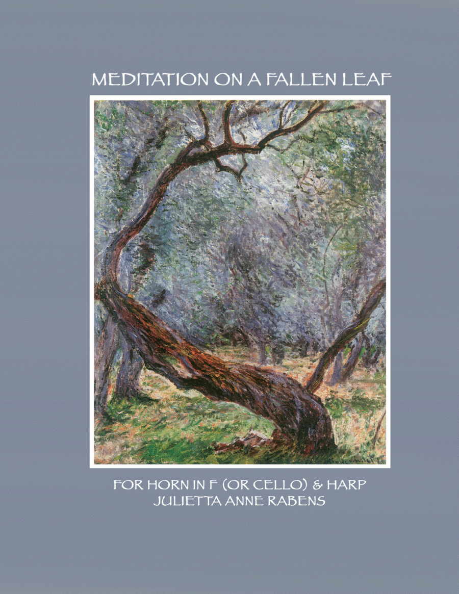 Meditation on a Fallen Leaf: for pedal harp and horn in F or cello
