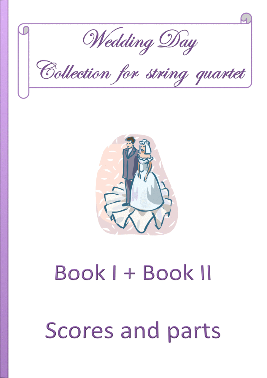Wedding Day Collection - Book 1 and Book 2 / Scores and parts
