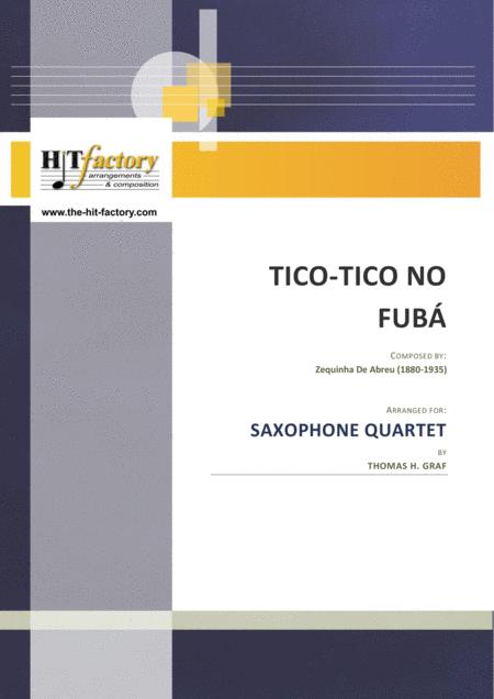 Tico-Tico no Fubá - Choro - Saxophone Quartet