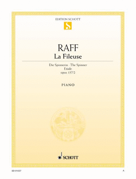 La Fileuse, Op. 157/2