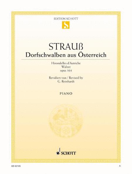 Dorfschwalben aus Osterreich, Op. 164