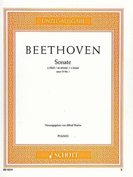 Sonata in C minor, Op. 10 No. 1