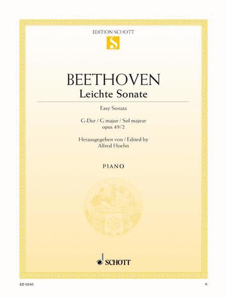 Sonata G major, Op. 49/2