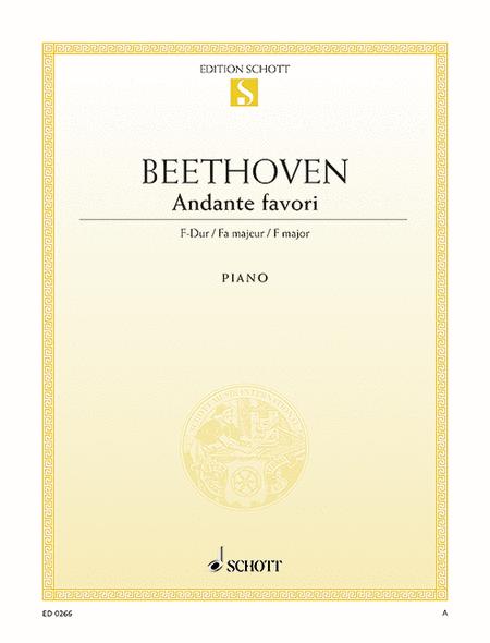 Andante favori F major, WoO 57