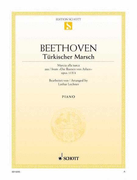 Turkish March C major, Op. 113/4