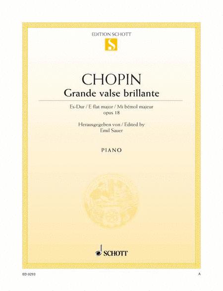 Waltz E-flat major, Op. 18