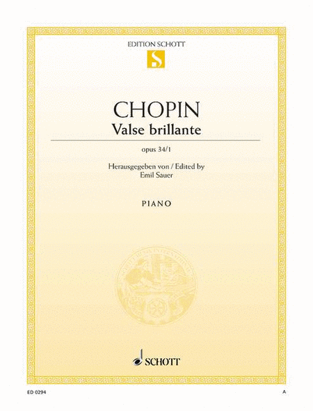Waltz A-flat major, Op. 34/1