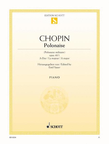 Polonaise A major, Op. 40/1