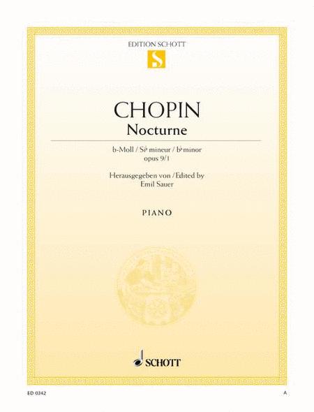 Nocturne B-flat minor, Op. 9/1