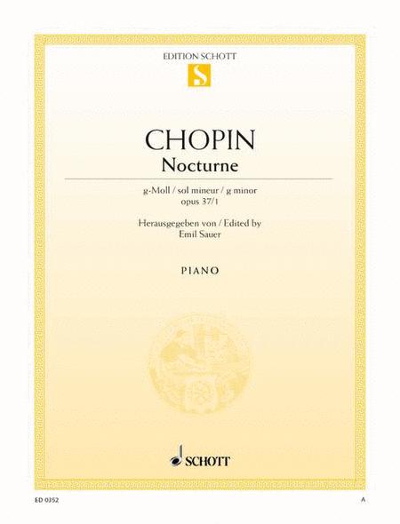 Nocturne G minor, Op. 37/1