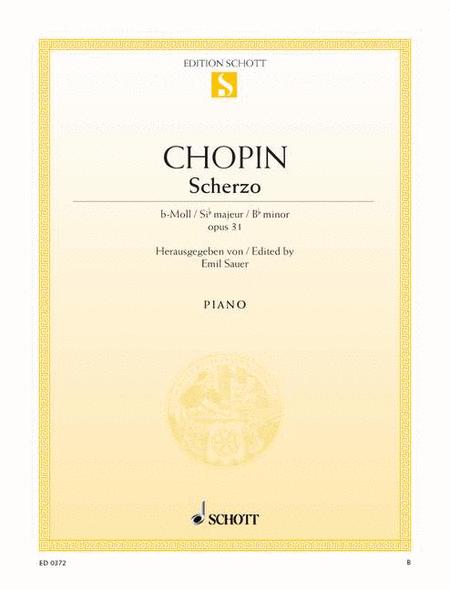 Scherzo B-flat minor, Op. 31