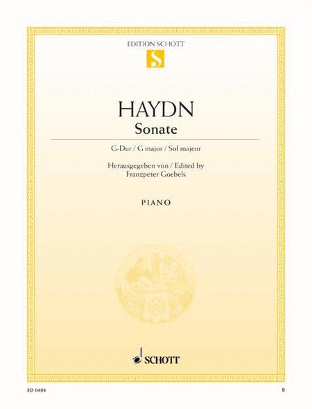 Sonata G major, Hob. XVI:27