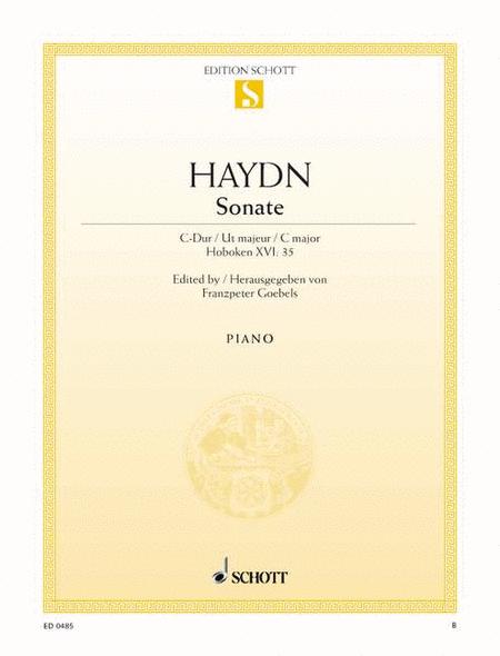 Sonata C major, Hob. XVI:35