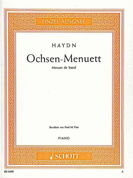 Ox-Menuett, Hob. IX:27