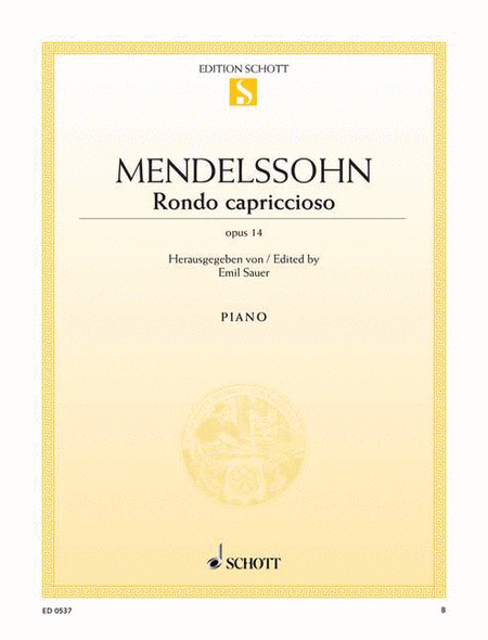 Rondo capriccioso, Op. 14