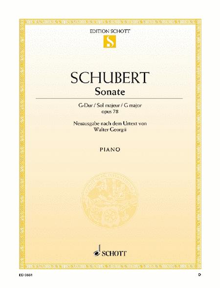 Sonata G major, Op. 78 D 894