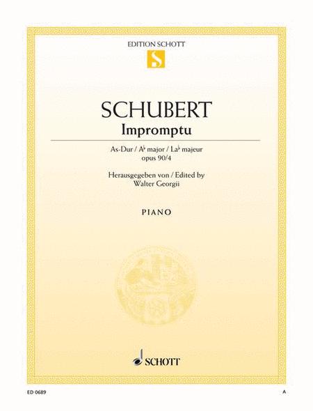 Impromptu, Op. 90 D 899 No. 4