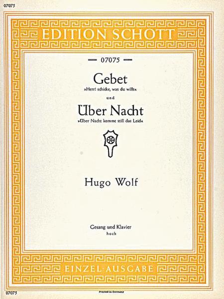 Gebet / Uber Nacht