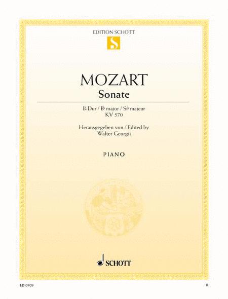 Sonata B-flat major, K. 570