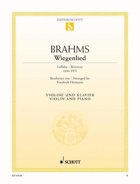 Wiegenlied F major, Op. 49/4