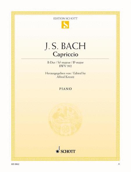 Capriccio B-flat major, BWV 992