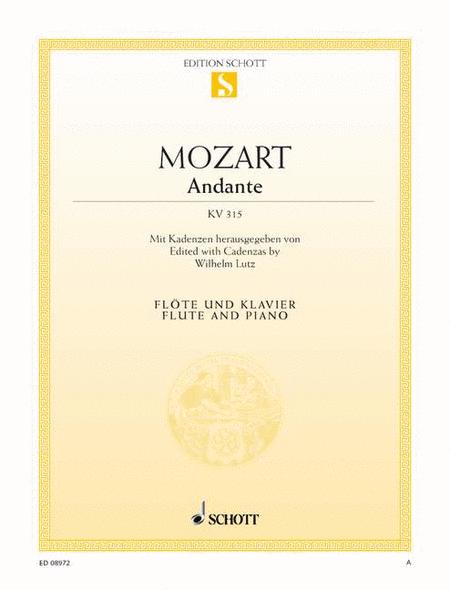 Andante for Flute, K. 315