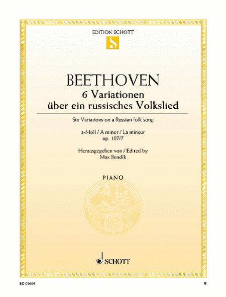 Six Variations, Op. 107/7