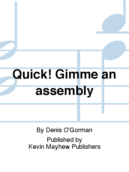 Quick! Gimme an assembly