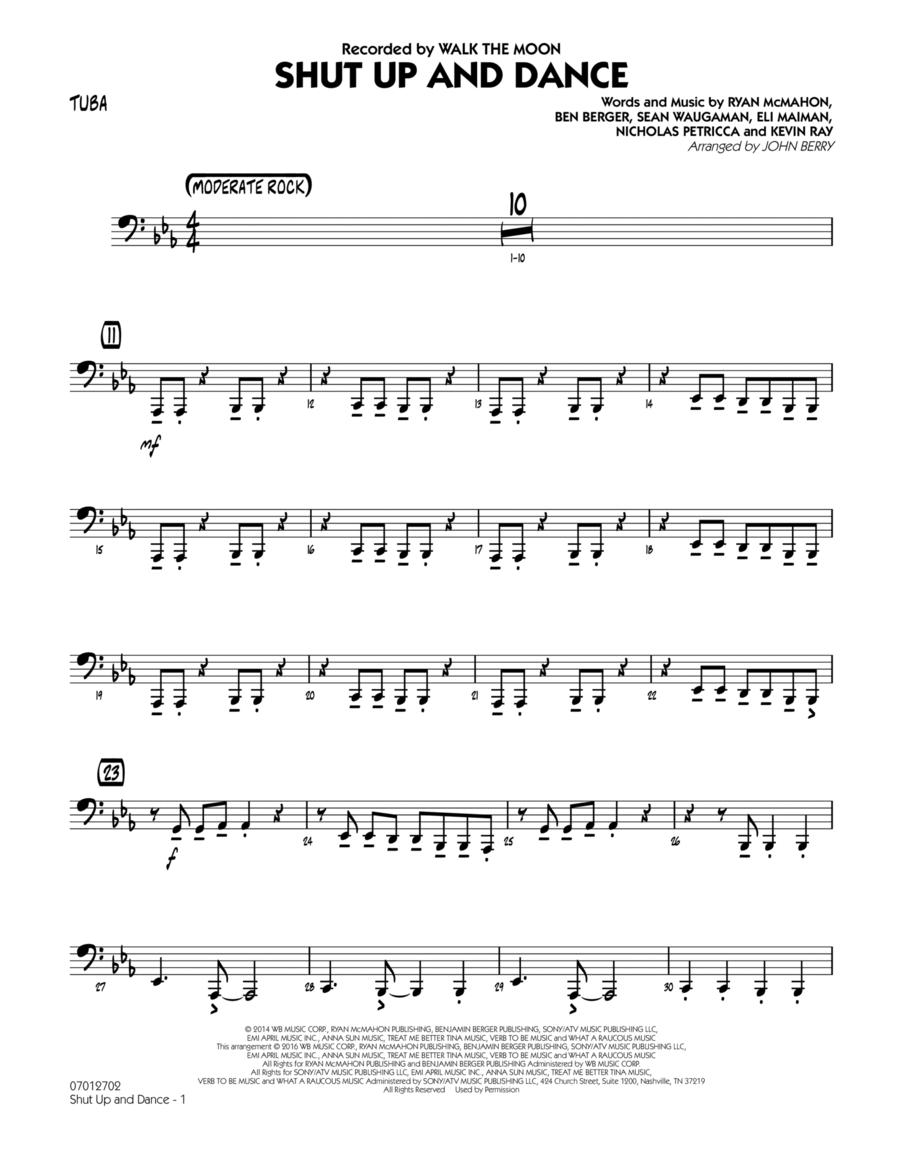 Shut Up and Dance - Tuba