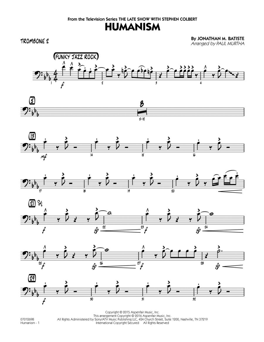 Humanism - Trombone 2