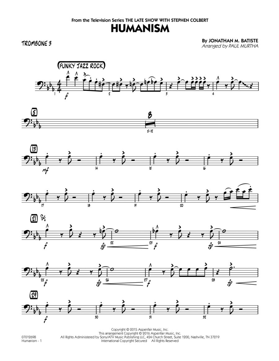 Humanism - Trombone 3