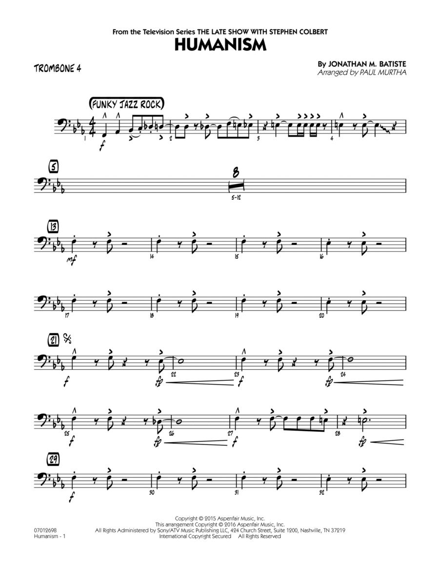 Humanism - Trombone 4