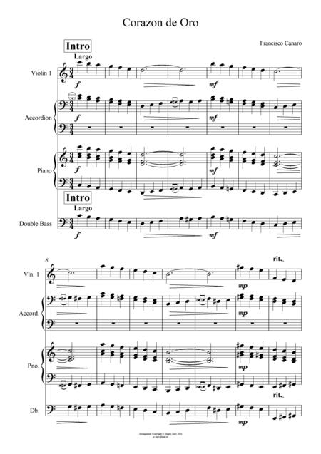 Canaro - Corazon de Oro (Quartet)