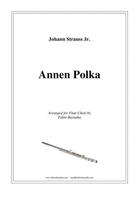Annen Polka - for Flute Choir