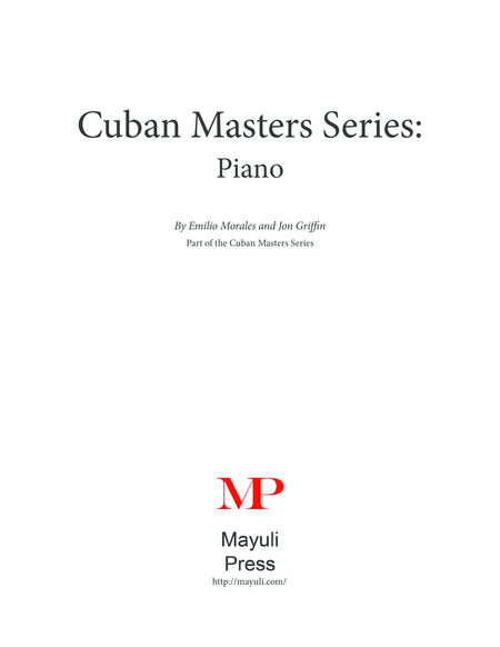 Cuban Masters Series - The Cuban Piano
