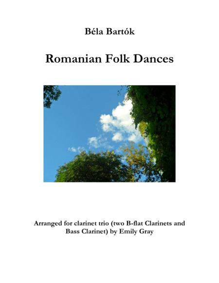 Romanian Folk Dances (Clarinet Trio with Bass Clarinet)