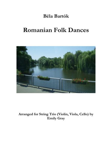 Romanian Folk Dances (String Trio)