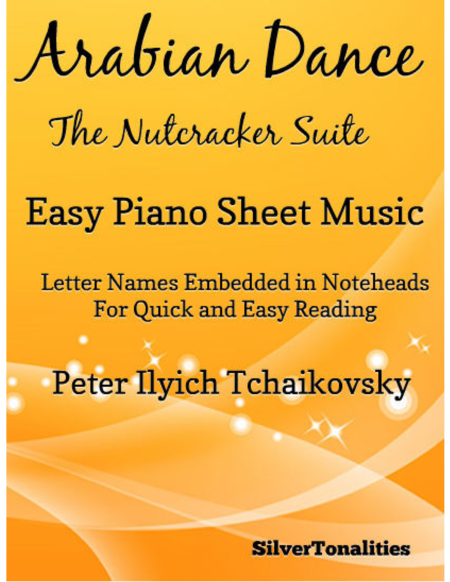 Arabian Dance Easy Piano Sheet Music