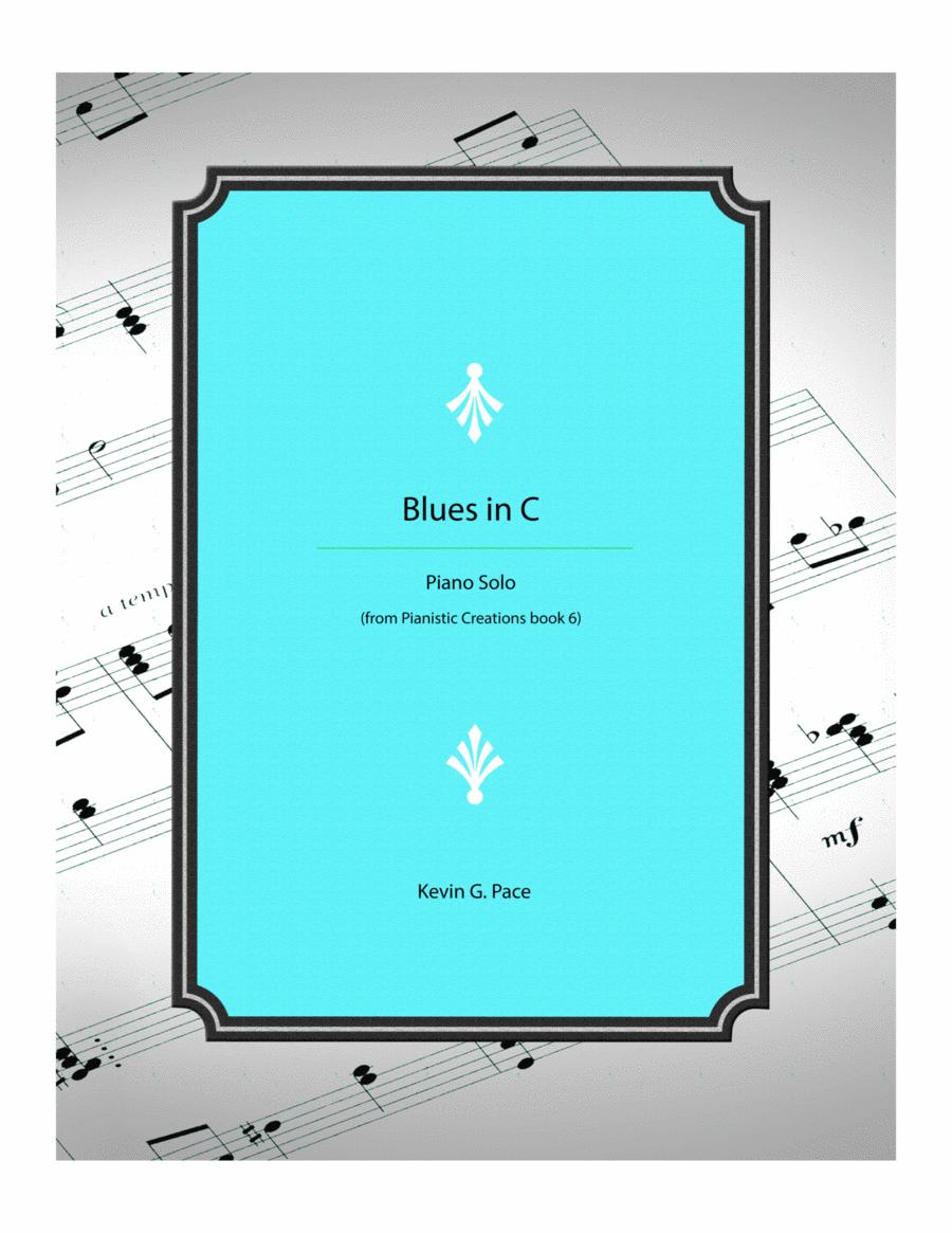 Blues in C - piano solo