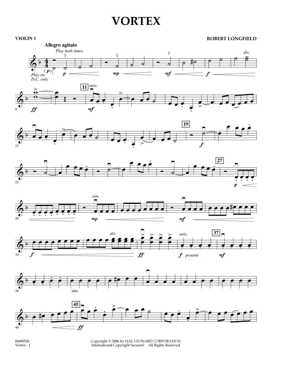 Vortex - Violin 1