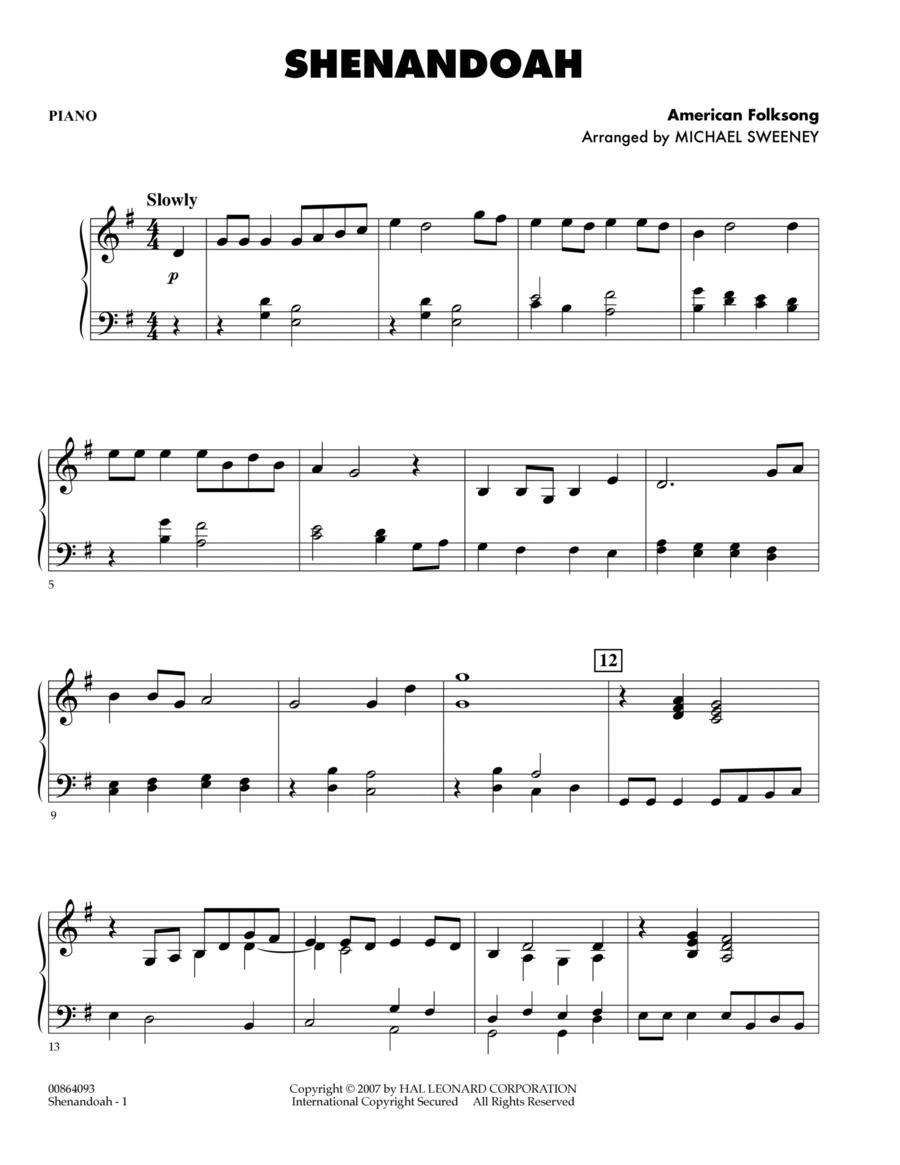 Shenandoah - Piano