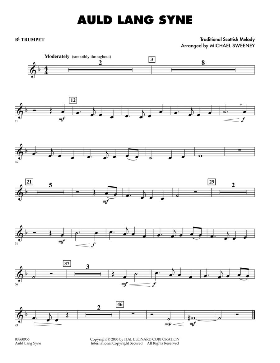 Auld Lang Syne - Bb Trumpet