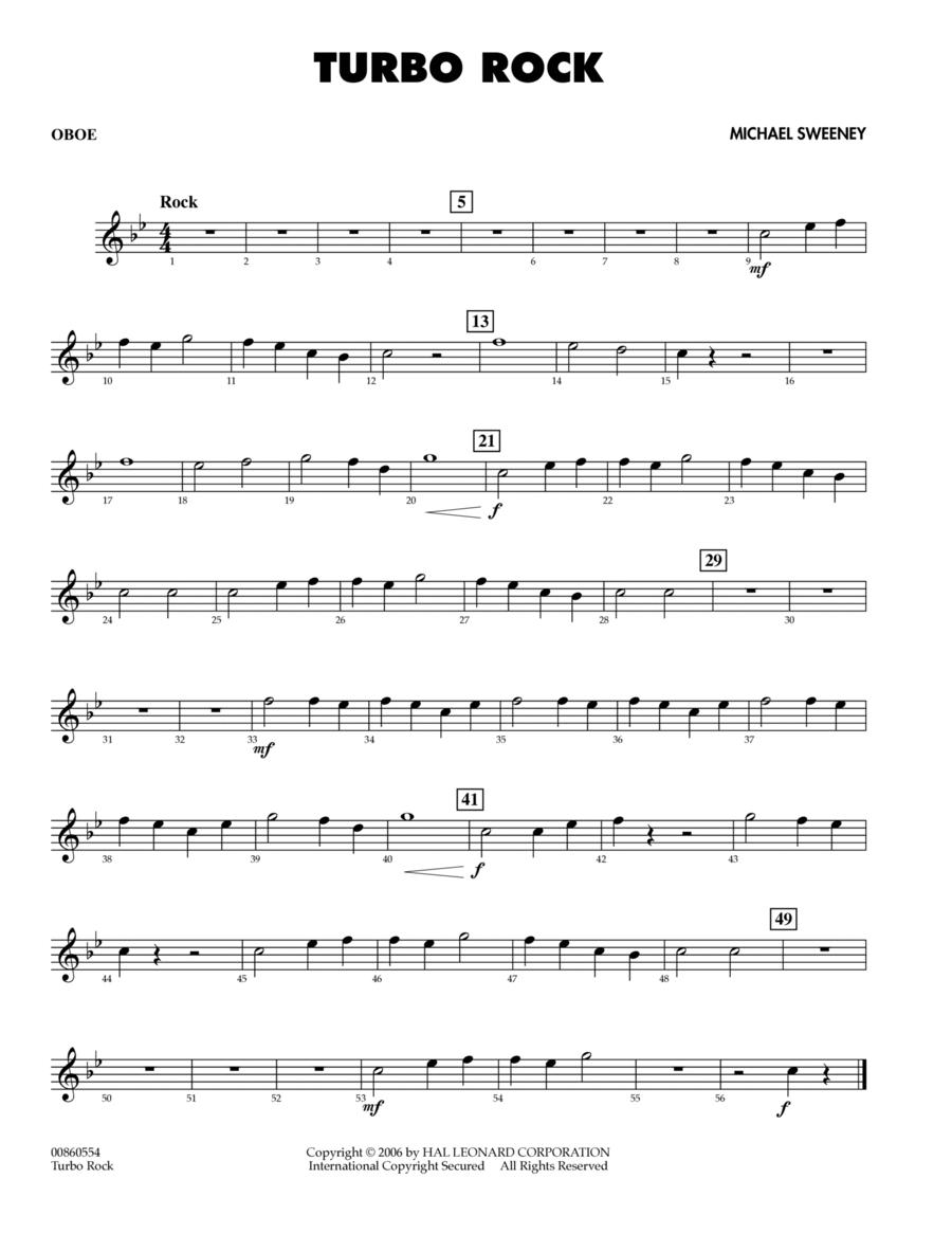 Turbo Rock - Oboe