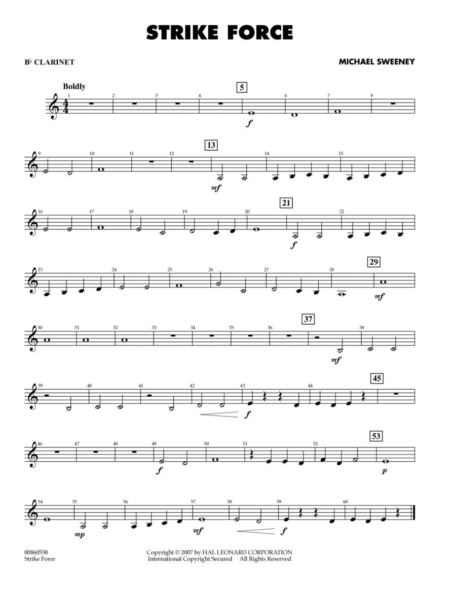 Strike Force - Bb Clarinet