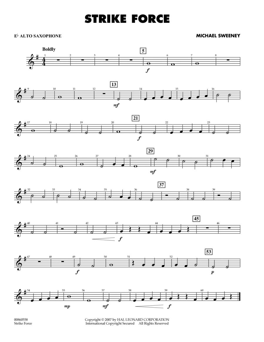 Strike Force - Eb Alto Saxophone
