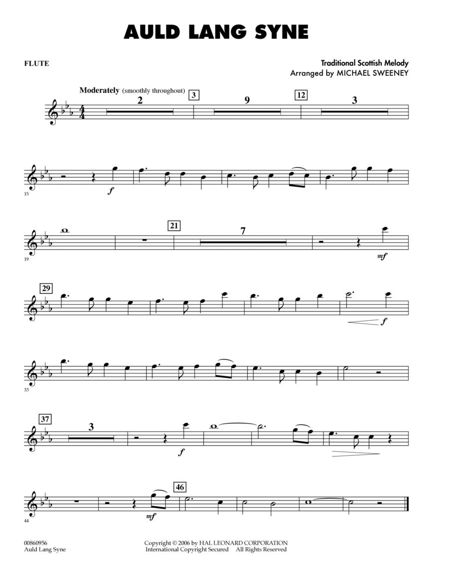 Auld Lang Syne - Flute