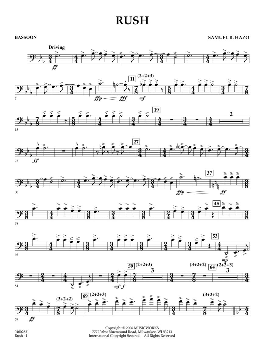 Rush - Bassoon