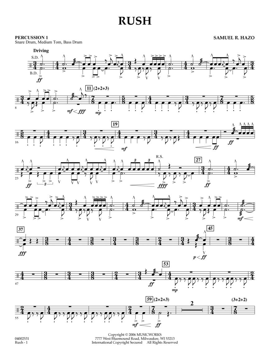 Rush - Percussion 1